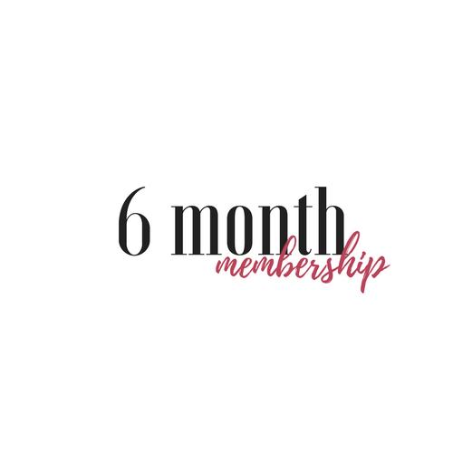 6 month membership (1)